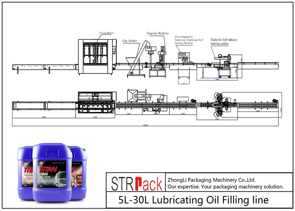 Automatische 5L-30L Schmierölfüllleitung