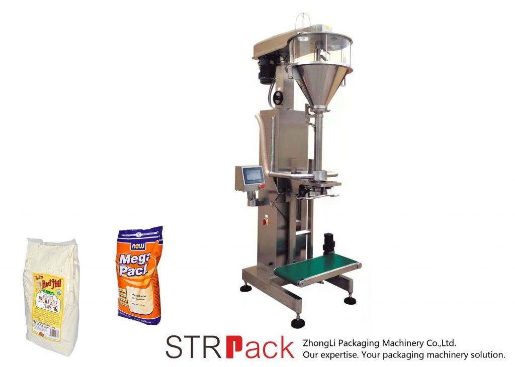 Schneckenpulverfüllmaschine mit Online-Waage