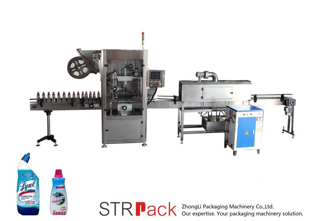 Automatische Schrumpfschlauch-Etikettiermaschine