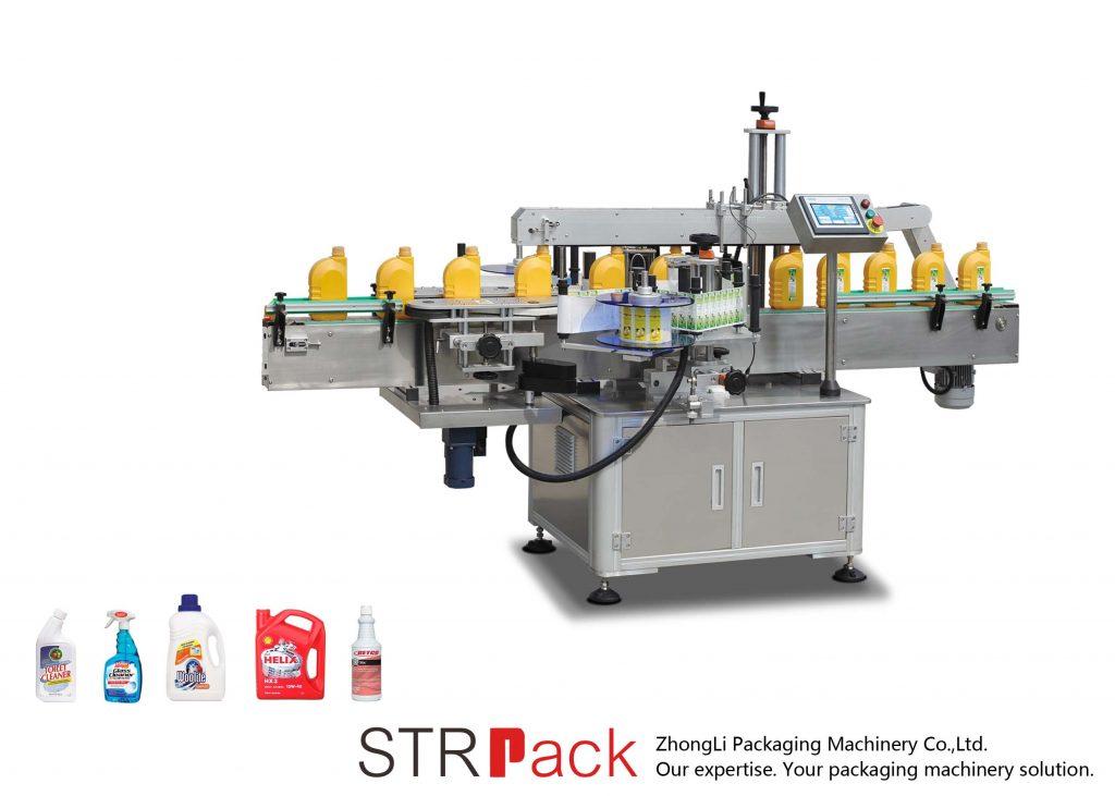 Automatische selbstklebende ein- / doppelseitige Etikettiermaschine