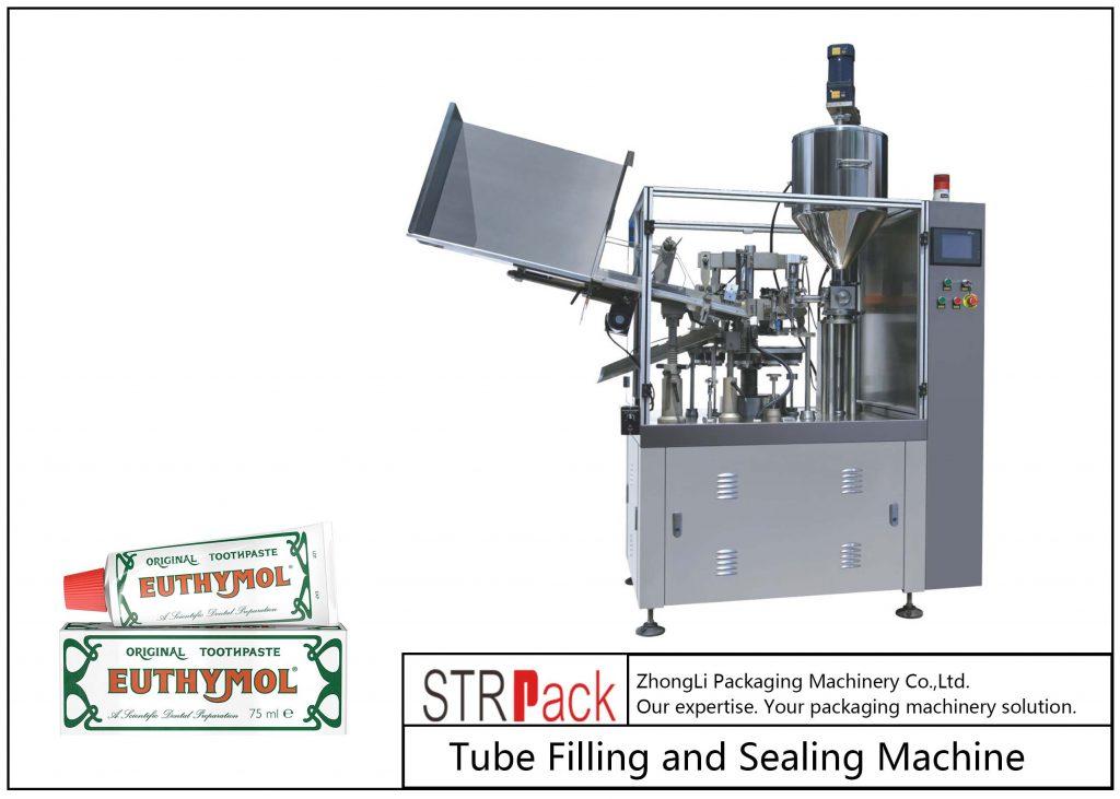 SFS-60Z Metallrohr-Füll- und Versiegelungsmaschine