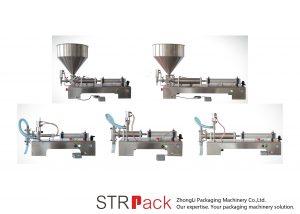 Halbautomatische Kolbenflüssigkeitsfüllmaschine