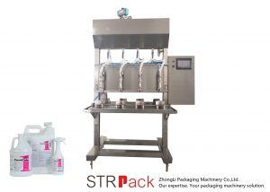 Halbautomatische Flüssigkeitsfüllmaschine mit Schwerkraft