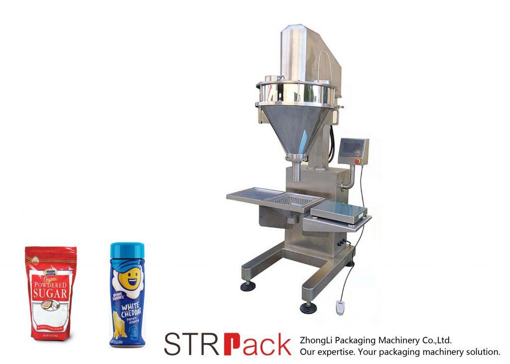 Halbautomatische Schneckenpulverfüllmaschine