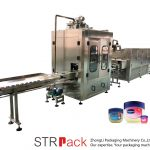 Vaseline Flüssigkeitsfüllmaschine Automatische Vaseline Füll- und Kühlleitung
